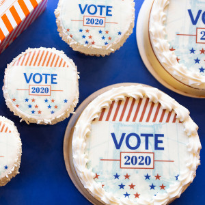 Vote Cheesecake and Vote Cupcakes