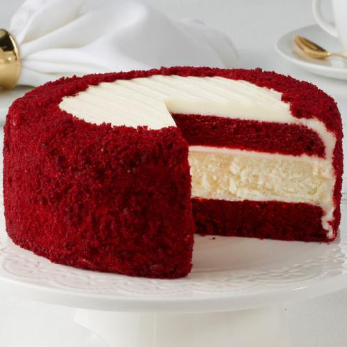 Red Velvet Cheesecake Juniors Cheesecake
