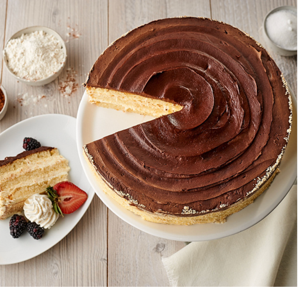 Boston Cream Pie Layercake