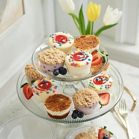 Seasonal Mini Cheesecake Assortment (18)