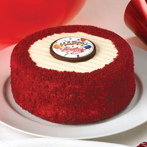 Happy Birthday Red Velvet Cheesecake Juniors Cheesecake