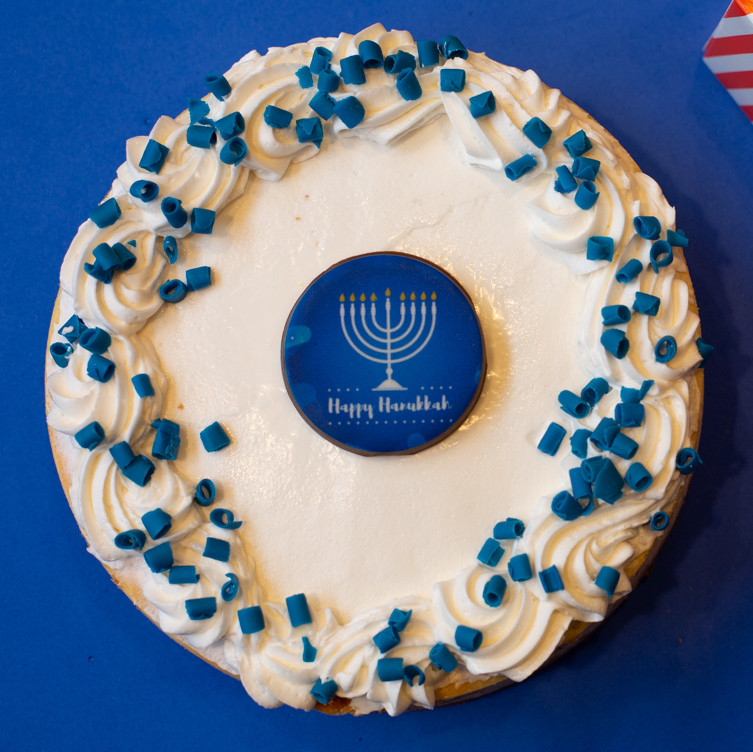Hanukkah Cheesecake