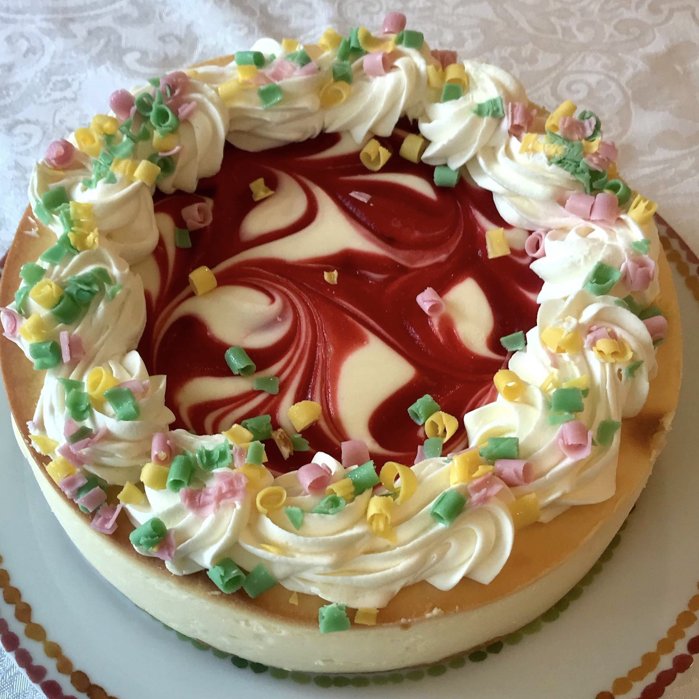 Special Edition Strawberry Summer Cheesecake