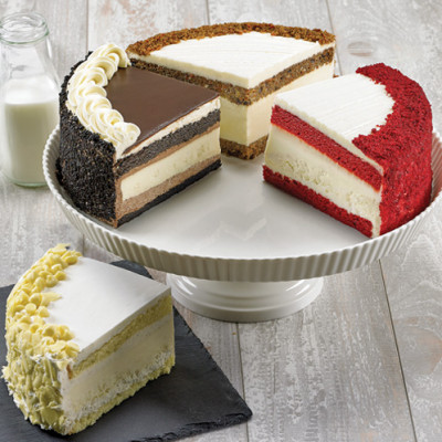 Layercake Cheesecake Sampler Extra Large