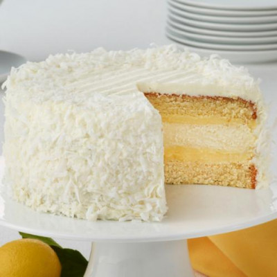 Lemon Coconut Cheesecake