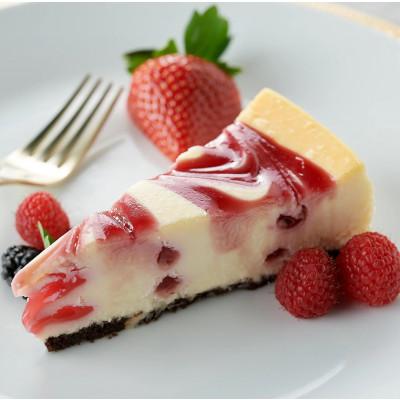 White Chocolate Raspberry Swirl - Sliced 14