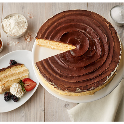 Boston Cream Pie Layercake