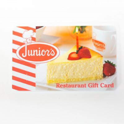 Junior's Braille Gift Card