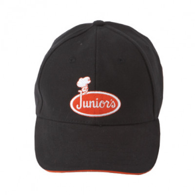 Black Juniors Hat  - Medium/Large