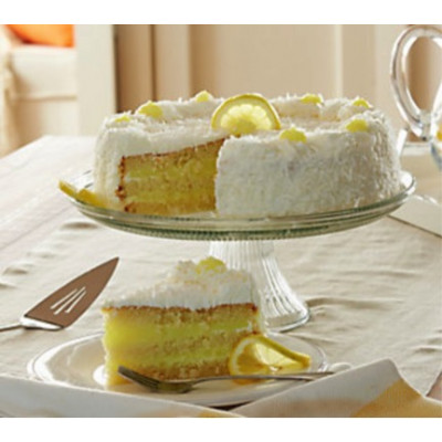 Juniors Coconut Lemon Layer Cake