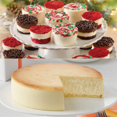 Holiday Little Fellas and Plain Cheesecake