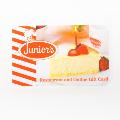 Junior's Gift Card