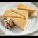 Pumpkin Cheesecake sliced on plate