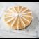 Pumpkin Cheesecake sliced into servings