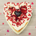 White Chocolate Strawberry Mother's Day Heart