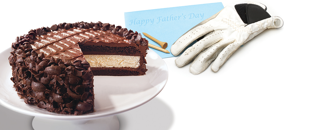 Celebrate Dad with Cheesecake
